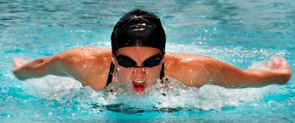 La natación para el control de peso