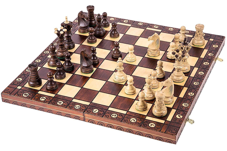mejor tablero de ajedrez de madera